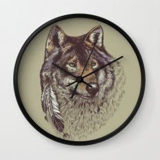 Wolfen Wall Clock