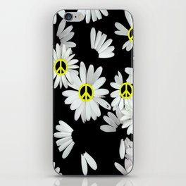 Simple Hippie Daisies iPhone Skin