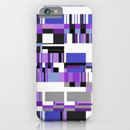 Debussy Little Shepherd (Purples) iPhone Case
