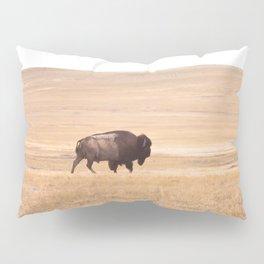 Buffalo Roaming (doing it's thing) Pillow Sham