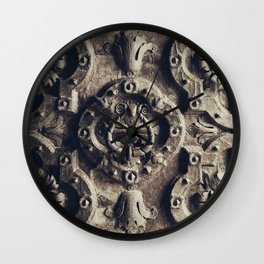The iron door Wall Clock