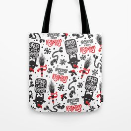 Greetings From Krampus Tote Bag