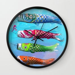 kinonbori fly Wall Clock