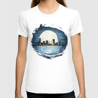 milwaukee T-shirts featuring Milwaukee Night by Kristiekoz