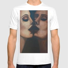 Mirror, Mirror  Mens Fitted Tee MEDIUM White