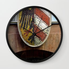 Nuremberg Small Coat of Arms Wall Clock