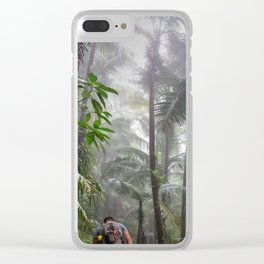 The Cloud forest - before Maria - El Yunque rainforest PR Clear iPhone Case