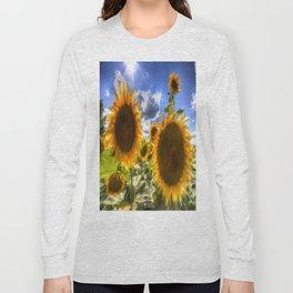 Sunflowers Of Summer Long Sleeve T-shirt