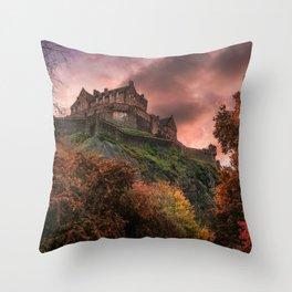 Edinburgh Blush Throw Pillow