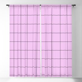 Pink Gatekeeper Blackout Curtain