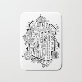Impossible Buildings Bath Mat