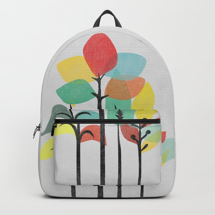 Tropical Groove (gray) Backpack