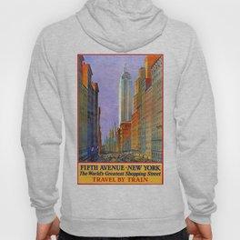 New York, vintage poster Hoody