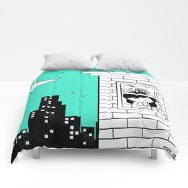 Midnight City Light - Retraced Comforters