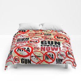 No Guns, Gun Control Now on Map Comforters