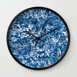 Blue Study Wall Clock