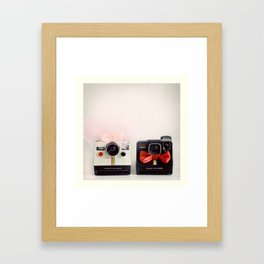 Just Married Framed Art Print