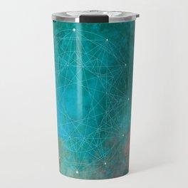Natural Geometry Travel Mug