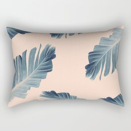 Tropical Banana Leaves Dream #7 #foliage #decor #art #society6 Rectangular Pillow