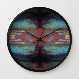 Fast Pace Mash up Wall Clock