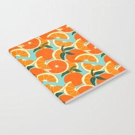 Orange Harvest - Blue Notebook