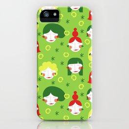 Funny Ladies iPhone Case