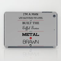 anchorman iPad Cases featuring Anchorman by thebuccanear