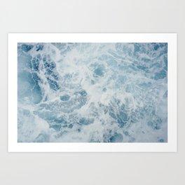 seafoam iv Art Print