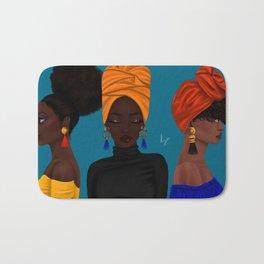 afrocentric Bath Mat