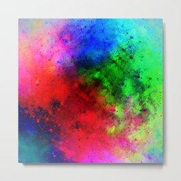 Explosive colors Metal Print