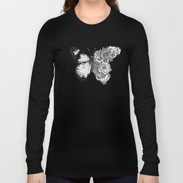 Butterfly in Bloom Long Sleeve T-shirt