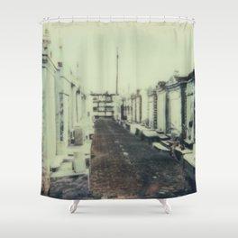 Graveyard Shower Curtain
