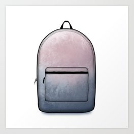 Heard You Like Backpacks Art Print