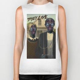 They live (1988) Biker Tank