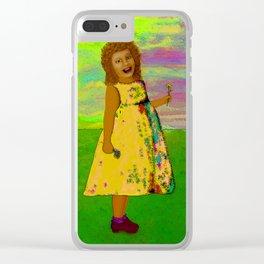 Joy 2 Clear iPhone Case