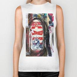Liberty Consume New York Graffiti Biker Tank