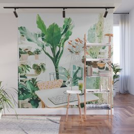 Junglow #illustration #decor Wall Mural