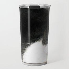 Cat in the sink Travel Mug