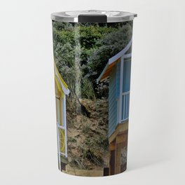Wells next the sea Beach Huts Travel Mug
