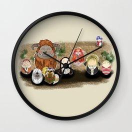 Labyrinth Tiggles Wall Clock