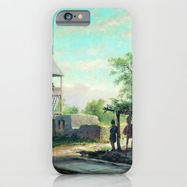 In The Caucasus 1874 By Lev Lagorio   Reproduction   Russian Romanticism Painter iPhone Case