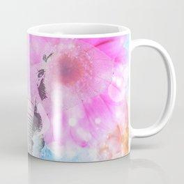 ELEPHANT and DASIES Coffee Mug