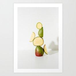 Mango for Daily Harvest Art Print