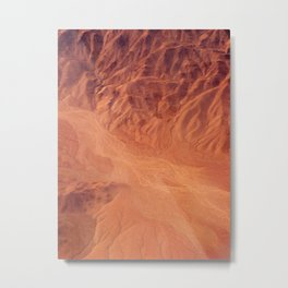 View from Above the Andes Metal Print