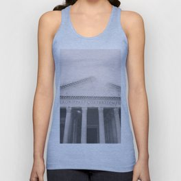 The Pantheon, fine art print, black & white photo, Rome photography, Italy lover, Roman history Unisex Tank Top
