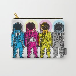 CMYK Spacemen Carry-All Pouch