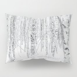 Swedish Birch Trees Pillow Sham