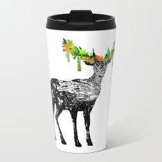 Fallow deer Metal Travel Mug