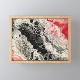 Black Cells Framed Mini Art Print