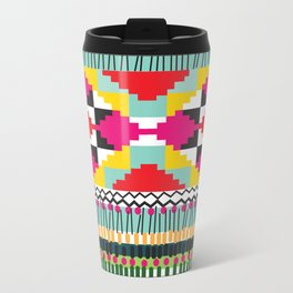 Ethnic Metal Travel Mug